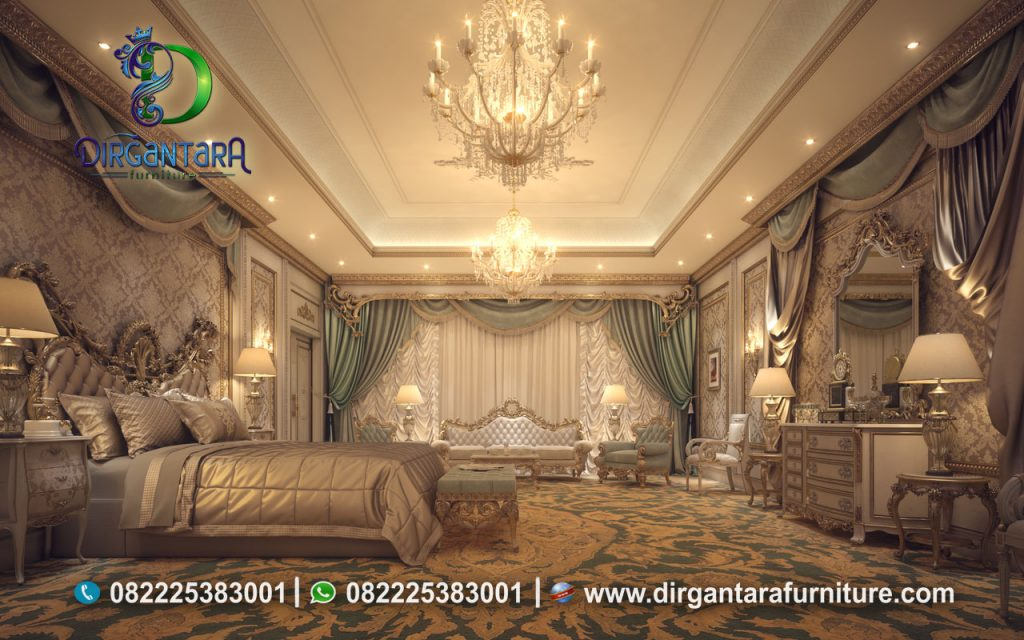Desain Tempat Tidur Luxury Terbaru KS-01, Dirgantara Furniture