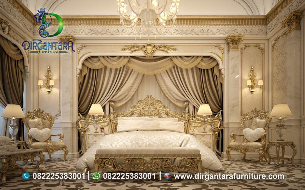 Desain Kamar Tidur Ukir Jepara Gold KS-03, Dirgantara Furniture