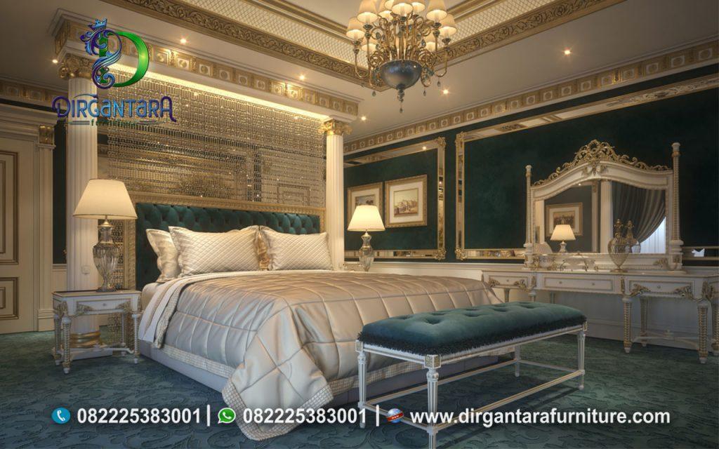 Desain Kamar Tidur Semi Minimalis Mewah KS-04, Furniture Nusantara