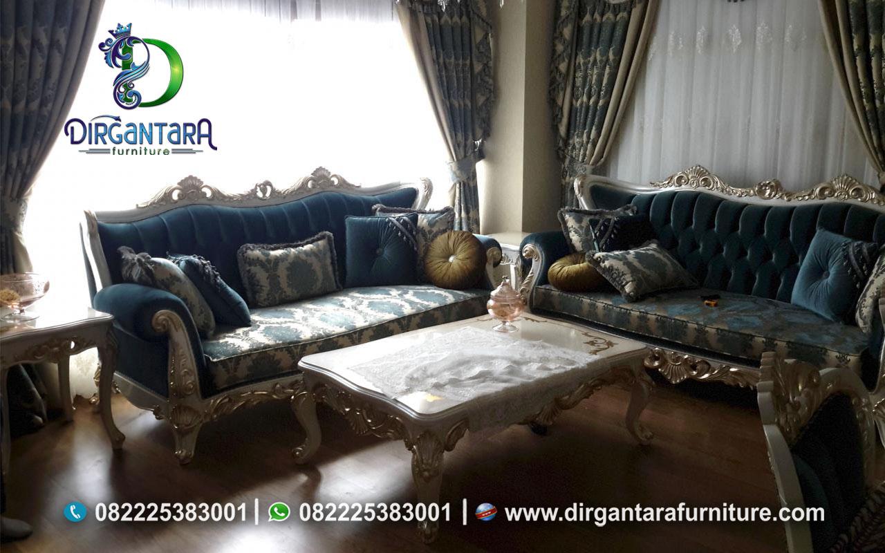 Jual Set Sofa Klasik Duco Ukir Jepara ST-08, Dirgantara Furniture