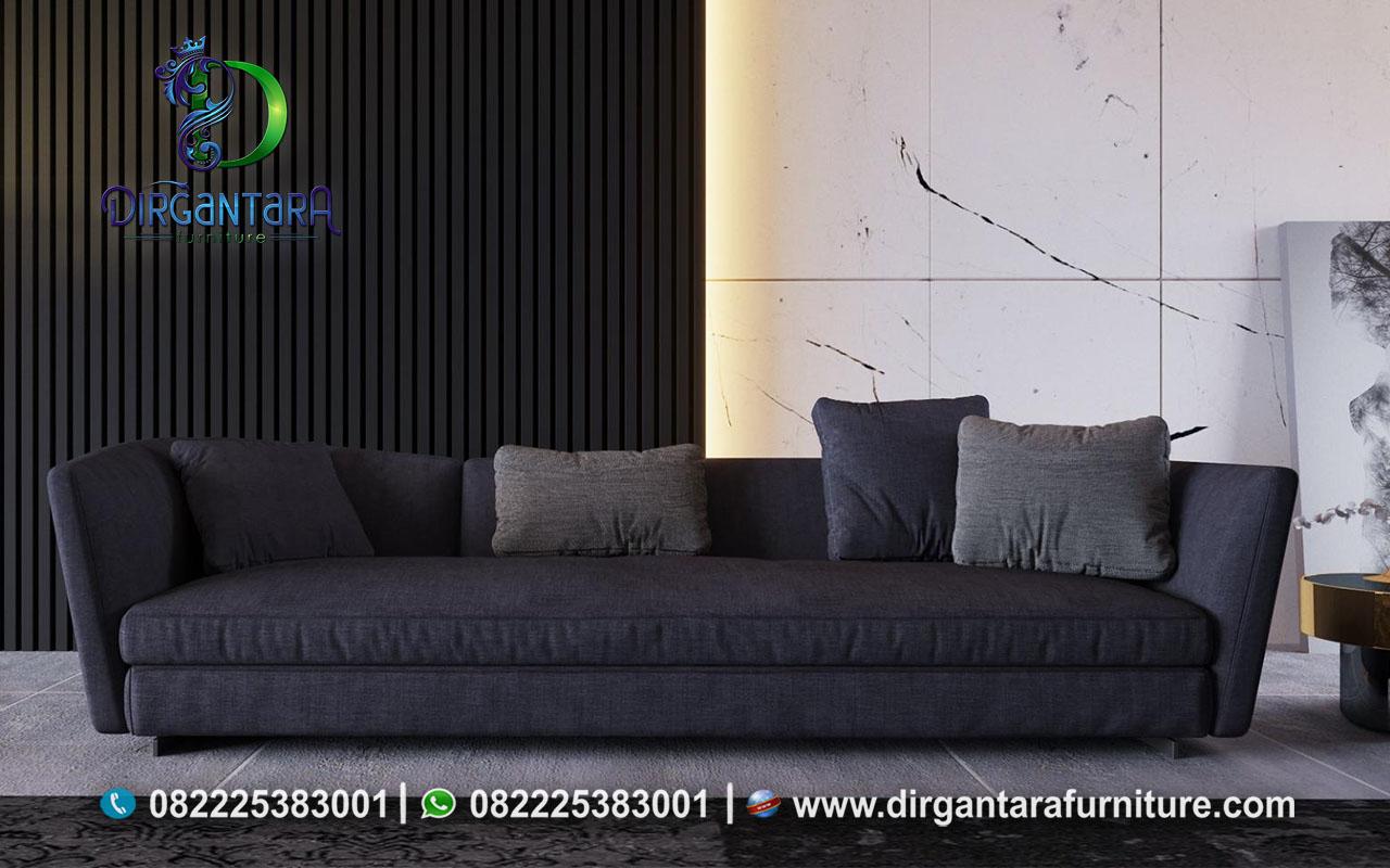 Sofa Bed Minimalis Ruang Tamu 3 Seat ST-19, Dirgantara Furniture