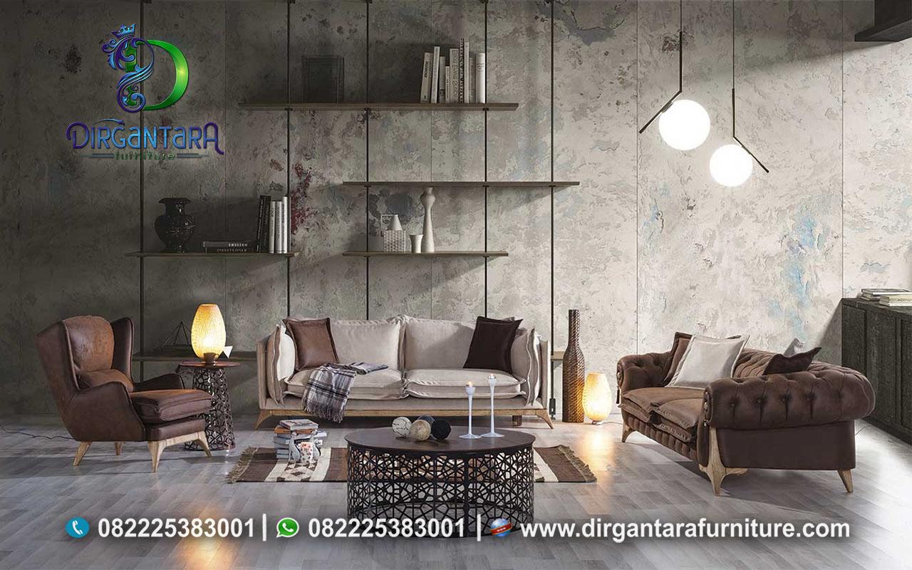 Terbaru Sofa Minimalis Retro Kekinian ST-29, Dirgantara Furniture