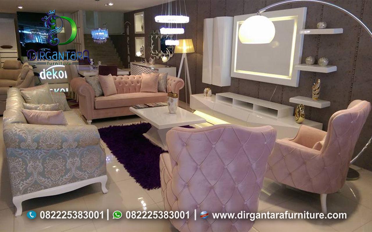 Jual Sofa Model Terbaru Elegan Modern ST-37, Dirgantara Furniture