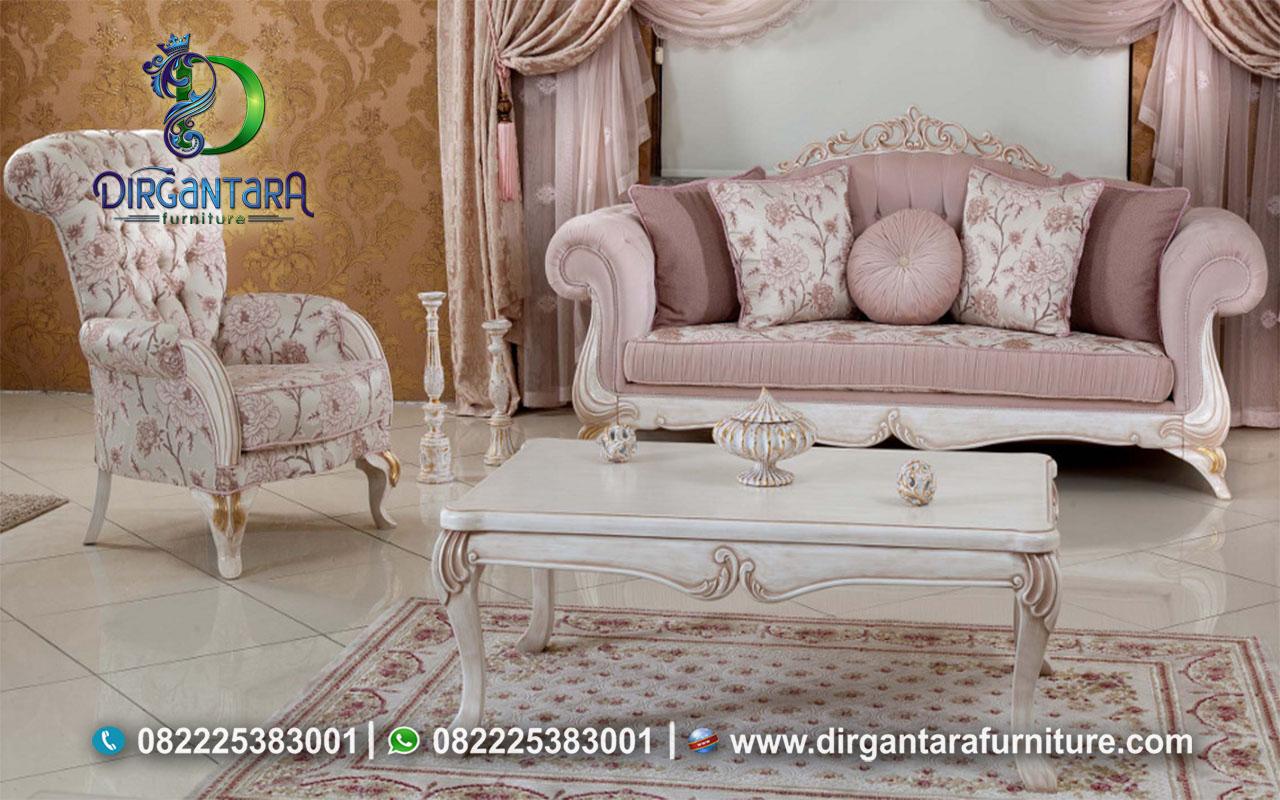 Sofa Mewah Model Terbaru Harga Termurah ST-41, Dirgantara Furniture