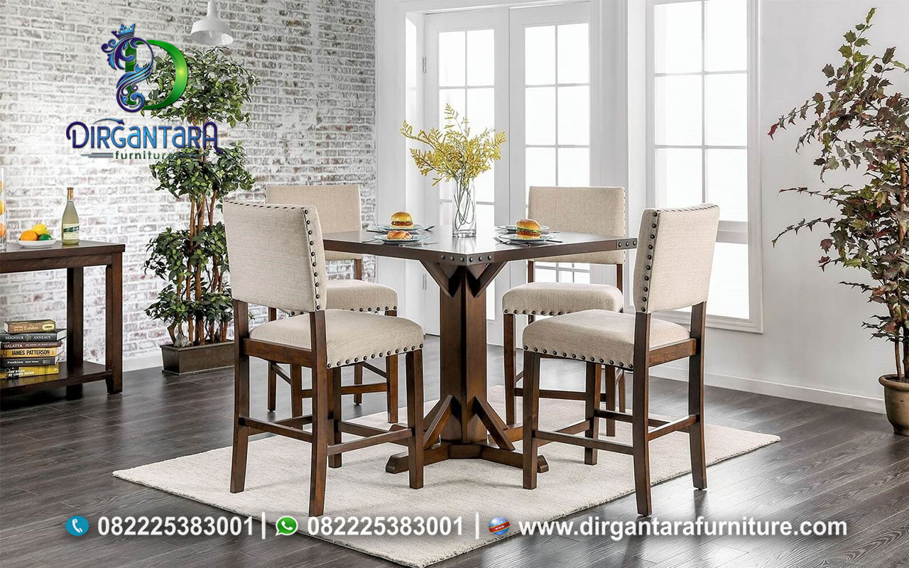 Jual Meja Makan Caffe Minimalis Murah MM-33, Dirgantara Furniture