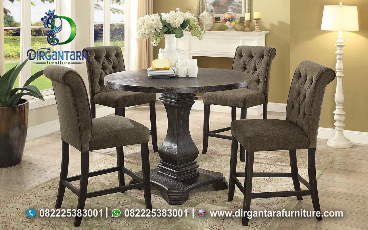Meja Makan 4 Kursi Untuk Ruang Sempit MM-35, Dirgantara Furniture
