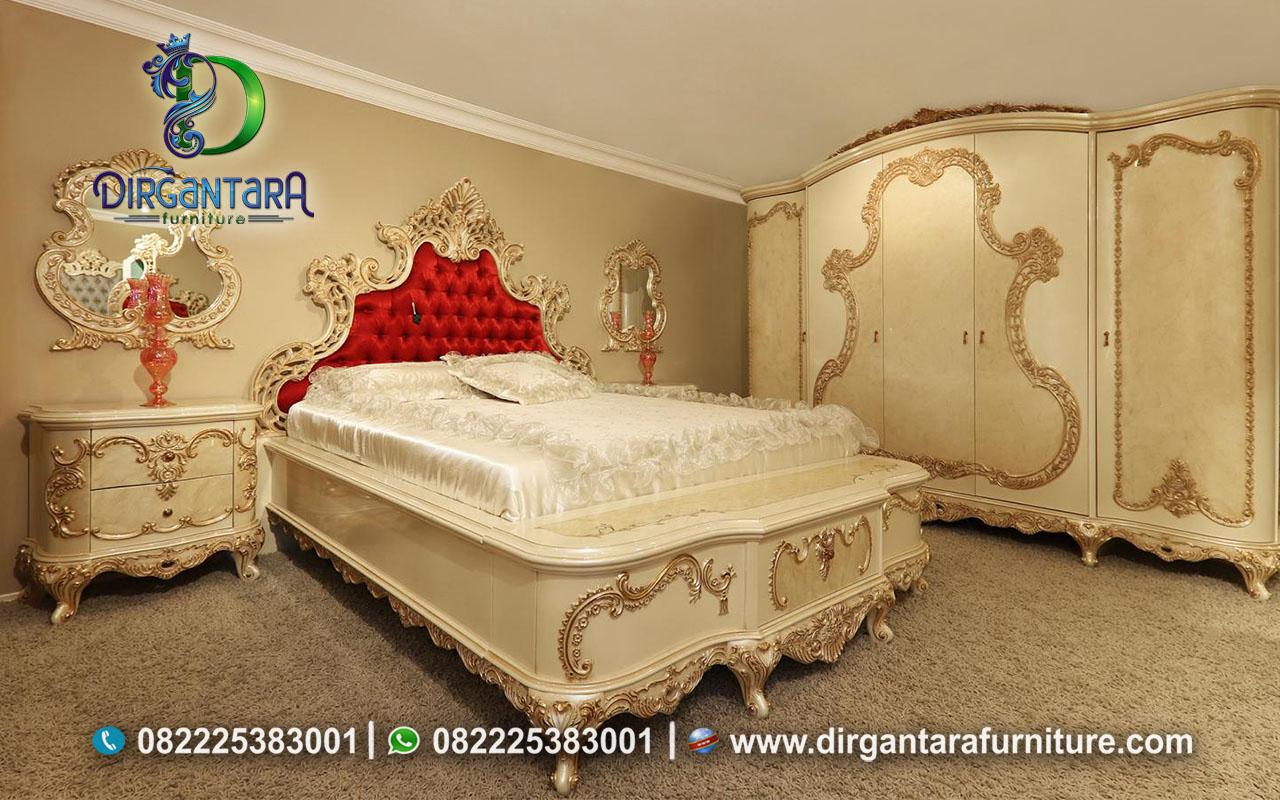 Desain Model Tempat Tidur Luxury Mewah KS-10, Dirgantara Furniture