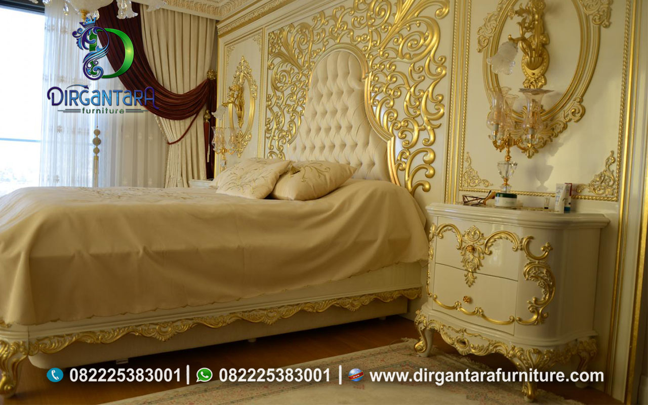 Bedroom Set Klasik Terbaru Full Backdrop KS-11 KS-11, Dirgantara Furniture
