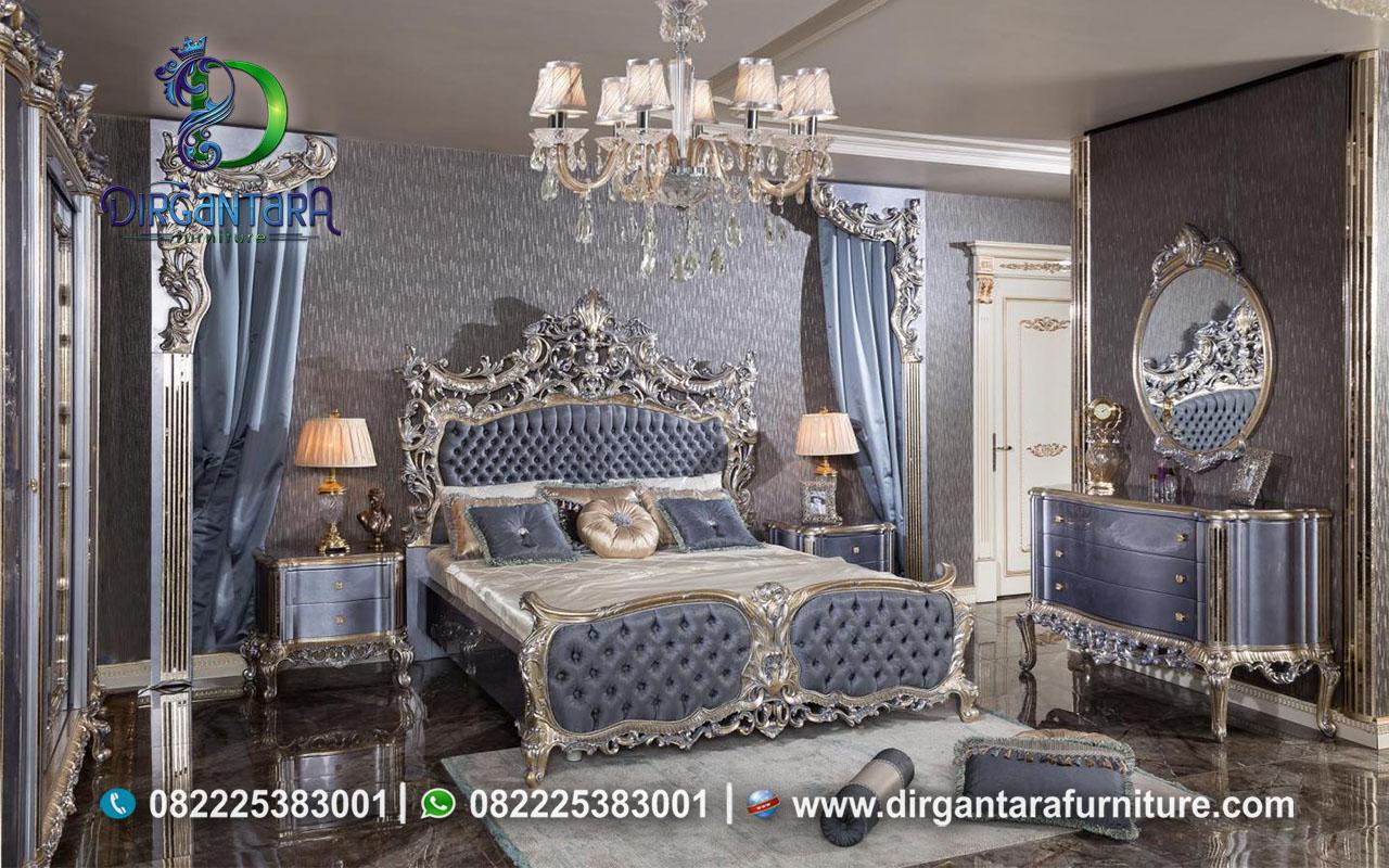 Kamar Set Luxury Silver Mewah Terbaru KS-17, Dirgantara Furniture