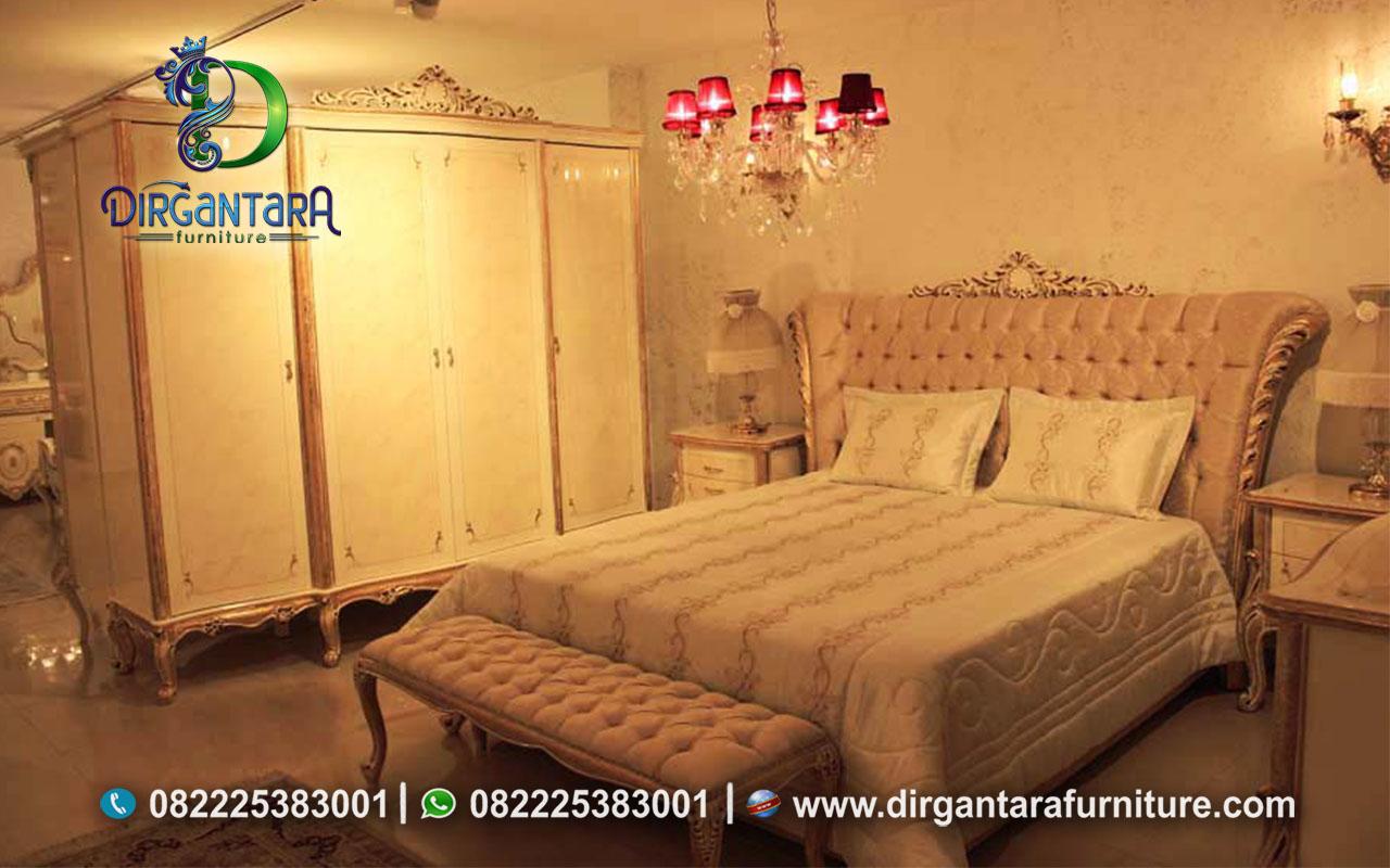 Set Tempat Tidur Mahoni Murah KS-20, Dirgantara Furniture