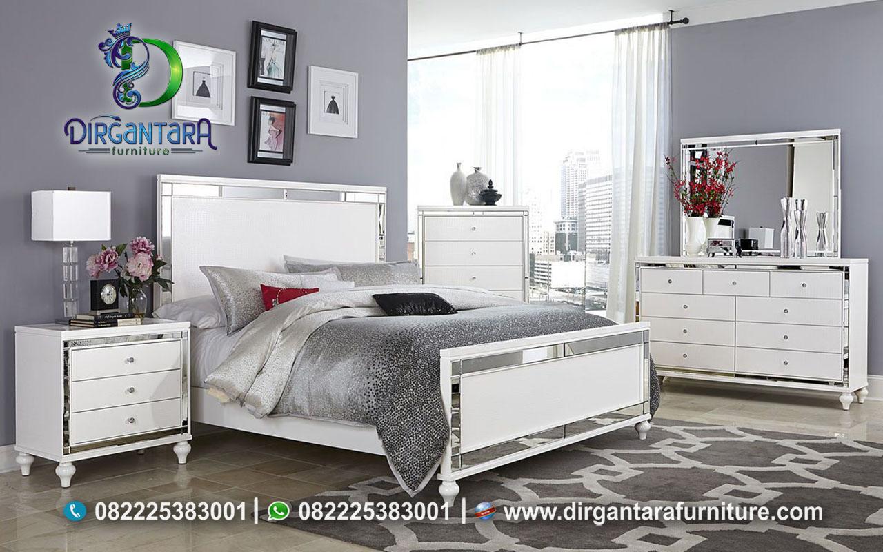 Desain Interior Kamar Tidur Minimalis Nuansa Putih KS-33, Dirgantara Furniture