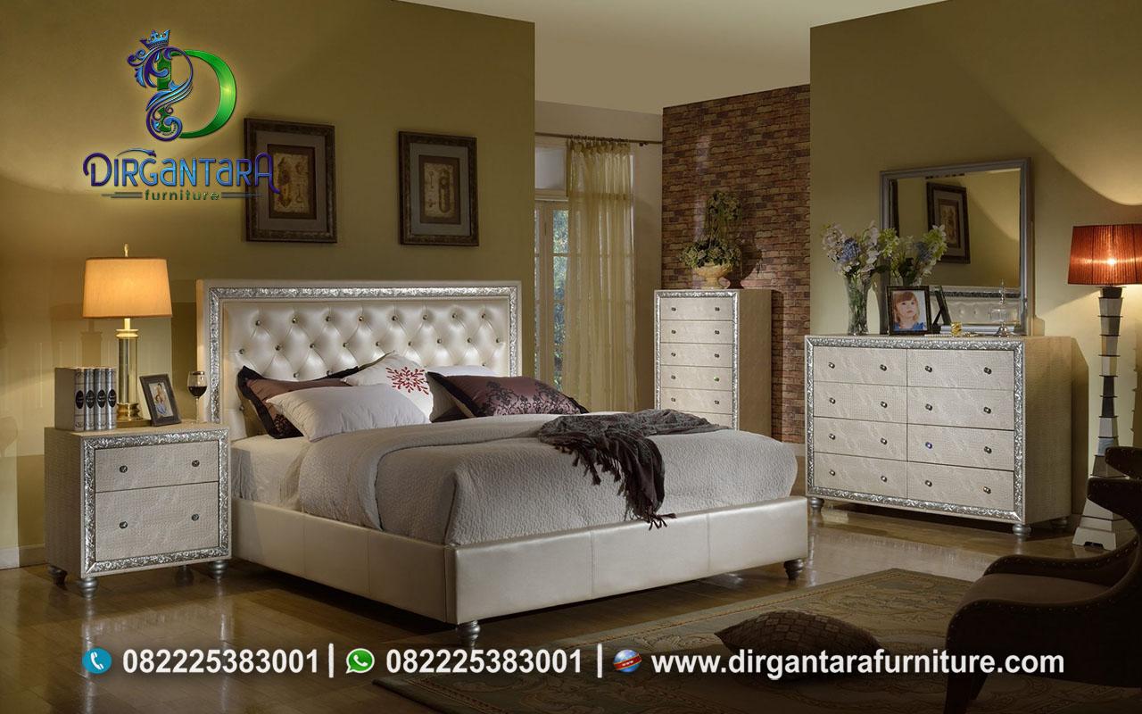 Set Furniture Tempat Tidur Warna Putih Ivory KS-36, Dirgantara Furniture