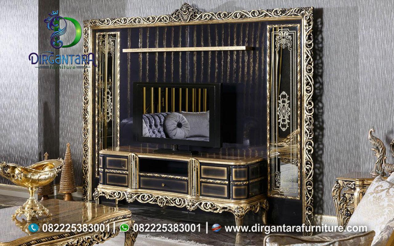 Buffet TV Klasik Ukir Mewah Jepara BTV-06, Dirgantara Furniture