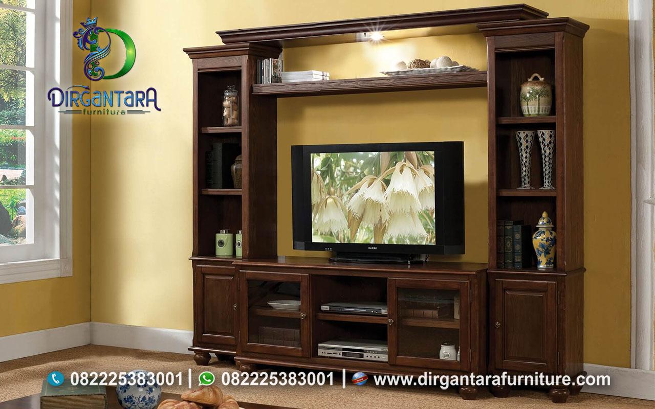 Jual Rak TV Minimalis Kayu Jati Murah BTV-12, Dirgantara Furniture