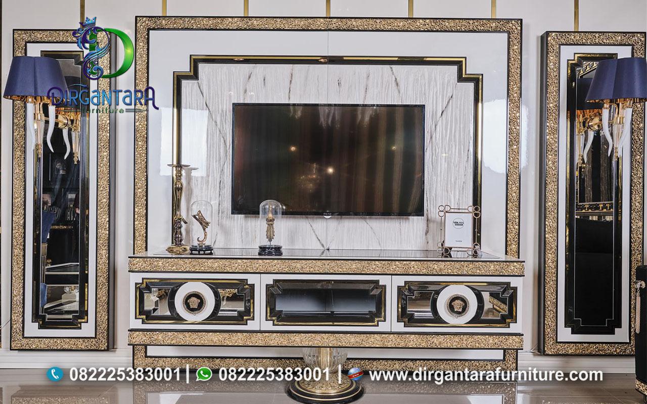 Inspirasi Desain Backdrop TV Air Brush Finishing BTV-19, Dirgantara Furniture