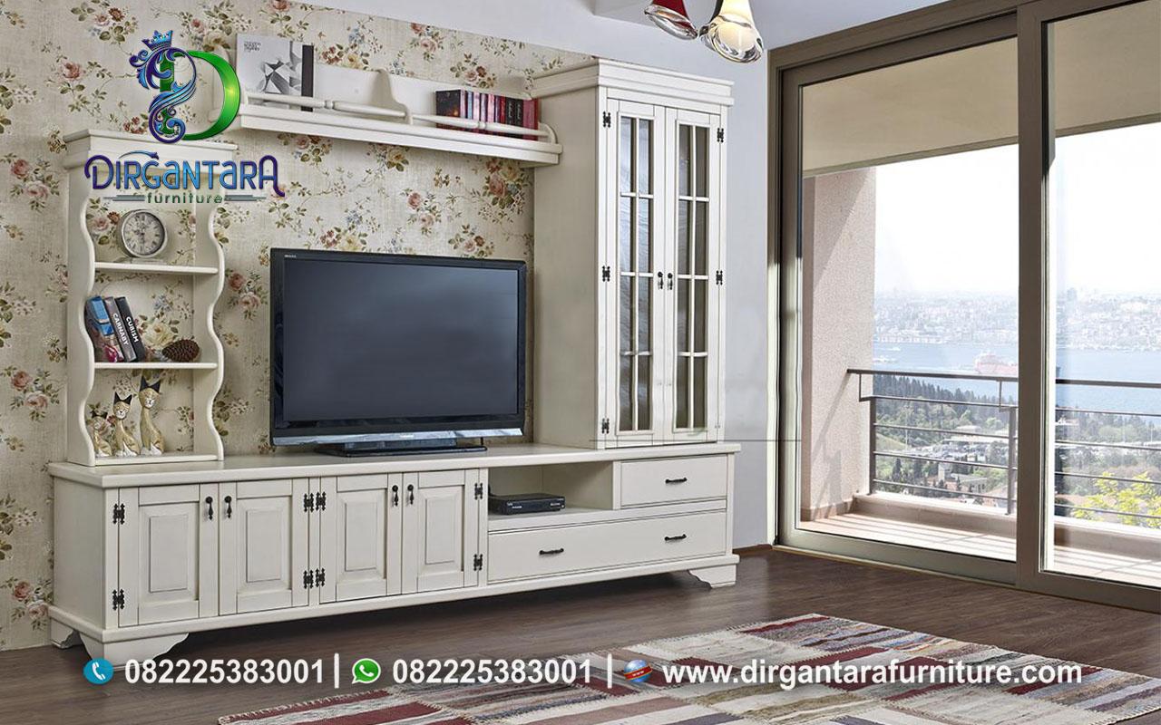 Buffet TV Viking Country White Ivory BTV-23, Dirgantara Furniture