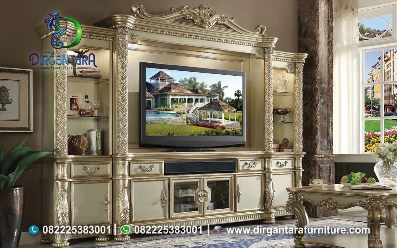 Jual Buffet TV Kayu Jati Jepara BTV-31, Dirgantara Furniture
