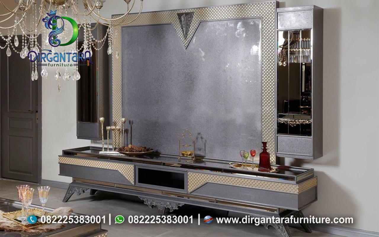 Beautifull Backdrop TV Simple Elegan Terbaru BTV-83, Dirgantara Furniture