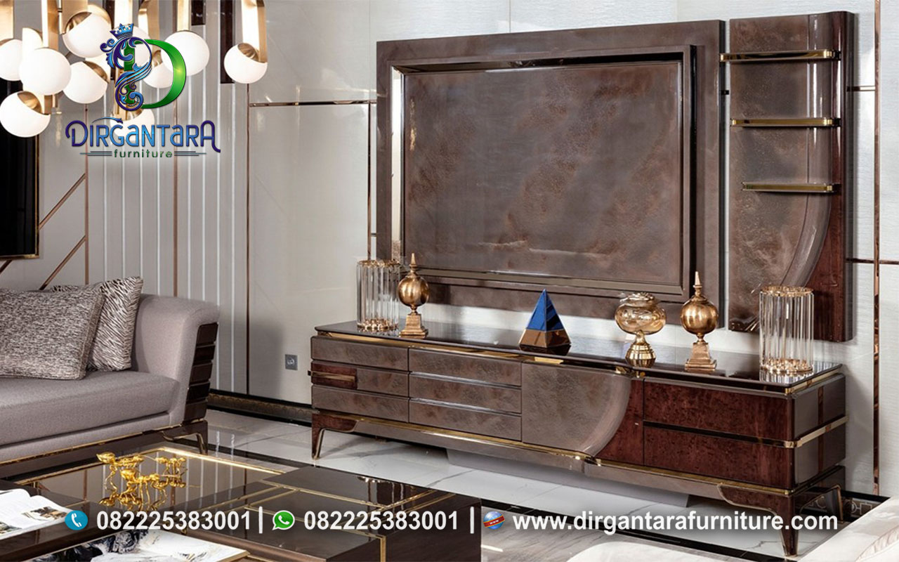 Set Backdrop TV Meja Hias Salak Tua Antik BTV-92, Dirgantara Furniture