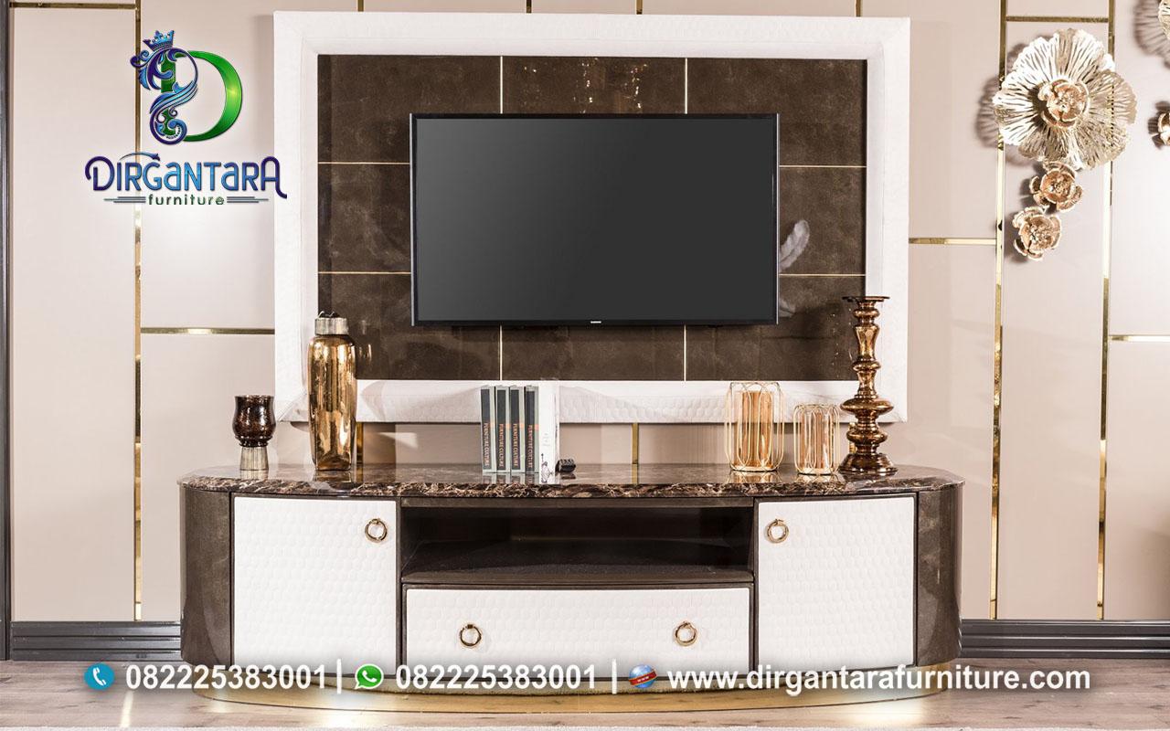New Desain Meja TV Backdrop TV Minimalis Modern BTV-101, Dirgantara Furniture