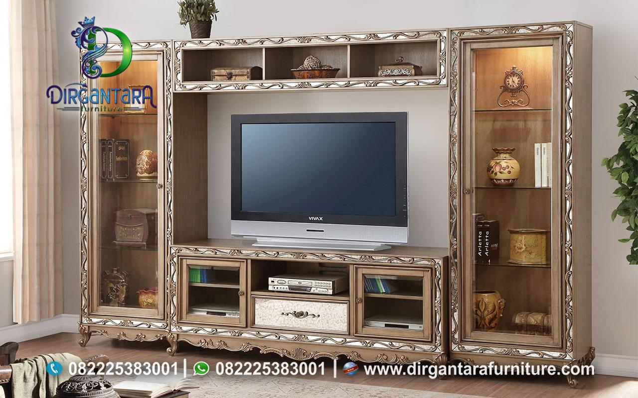 Jual Lemari TV Menarik Ruang Keluarga BTV-104, Dirgantara Furniture