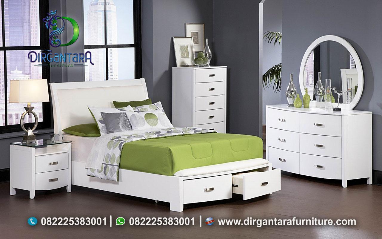Kamar Minimalis Hijau Putih Model Terbaru KS-118, Dirgnatara Furniture