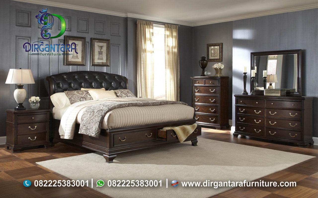 Inspirasi Interior Kamar Klasik Minimalis KS-119, Dirgantara Furniture