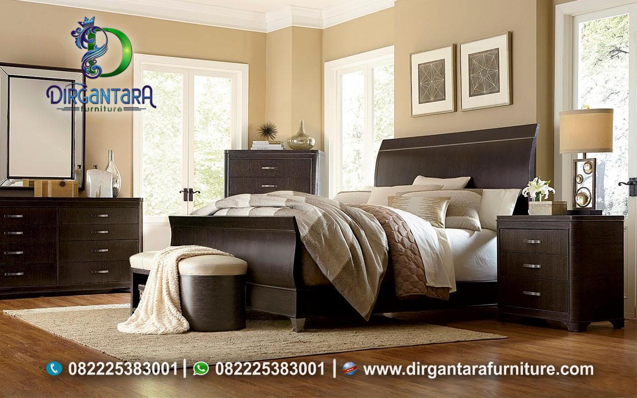 New Kamar Minimalis Warna Coklat Salak KS-134, Dirgantara Furniture