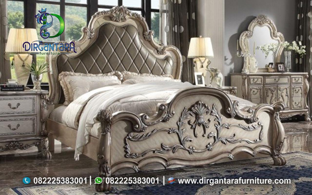 Set Kamar Tidur Dresden Vintage Ukir Jepara KS-57, Dirgantara Furniture