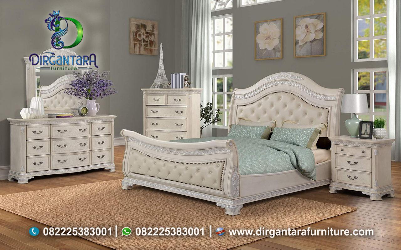 Desain Kamar Tidur Putih Merida Sleigh KS-71, Dirgantara Furniture