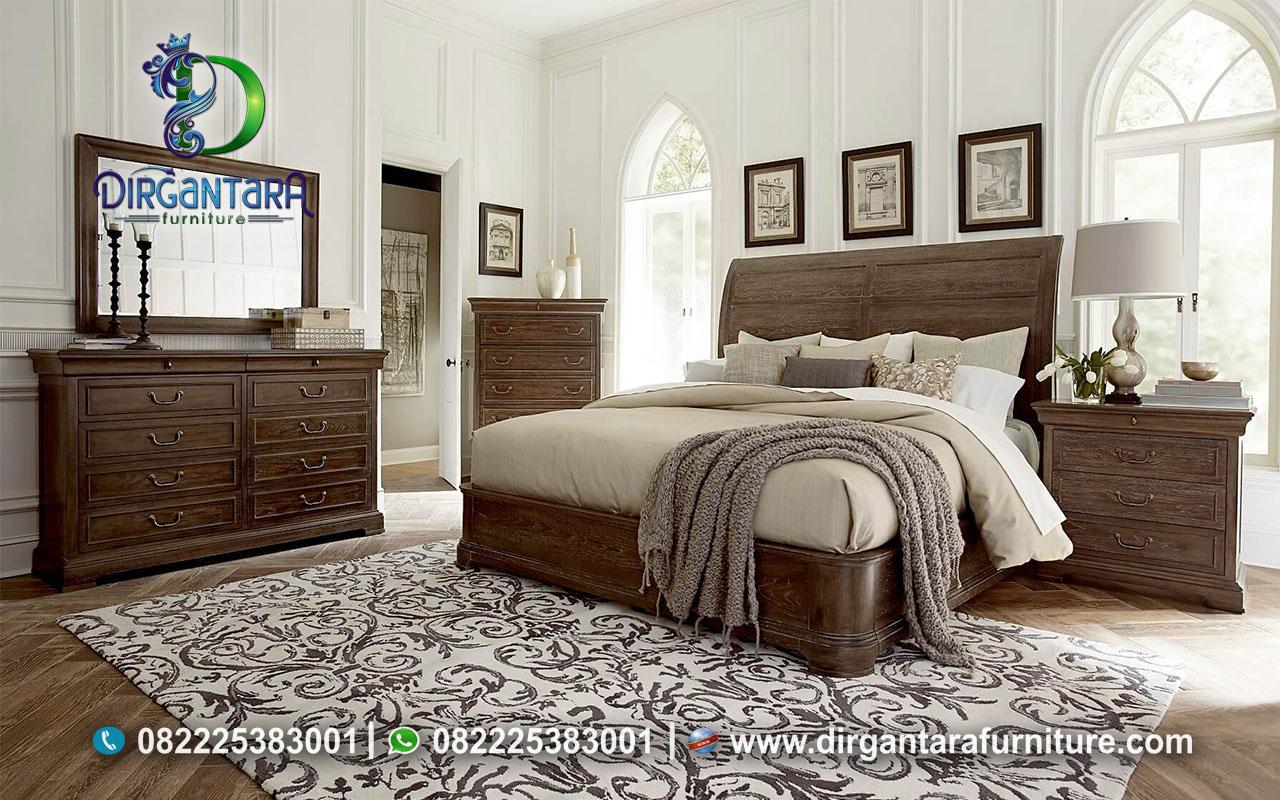 Kamar Set Jati Minimalis Estetik KS-138, Dirgantara Furniture