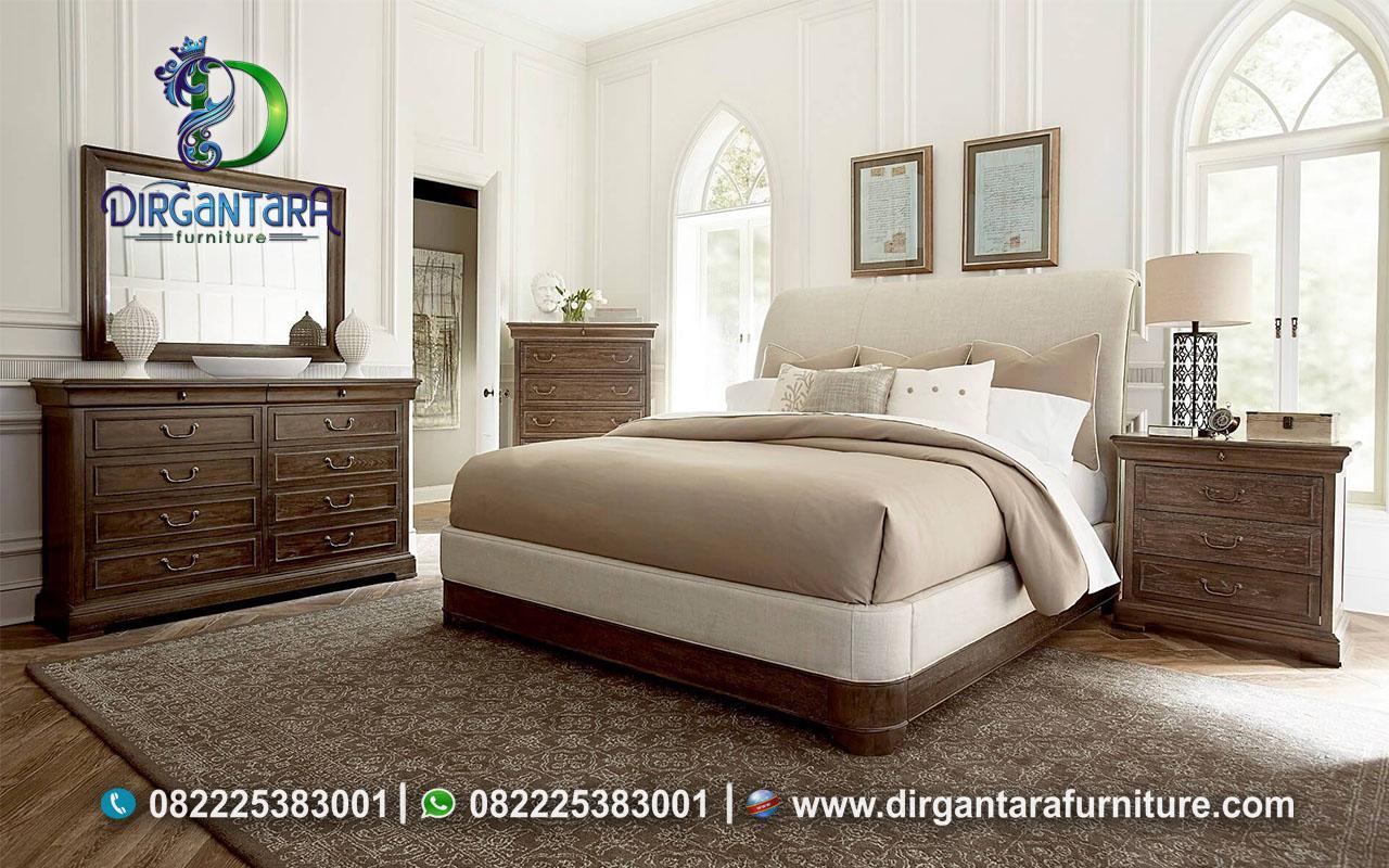 Harga Terbaru Kamar Set Bahan Kayu Jati KS-139, Dirgantara Furniture