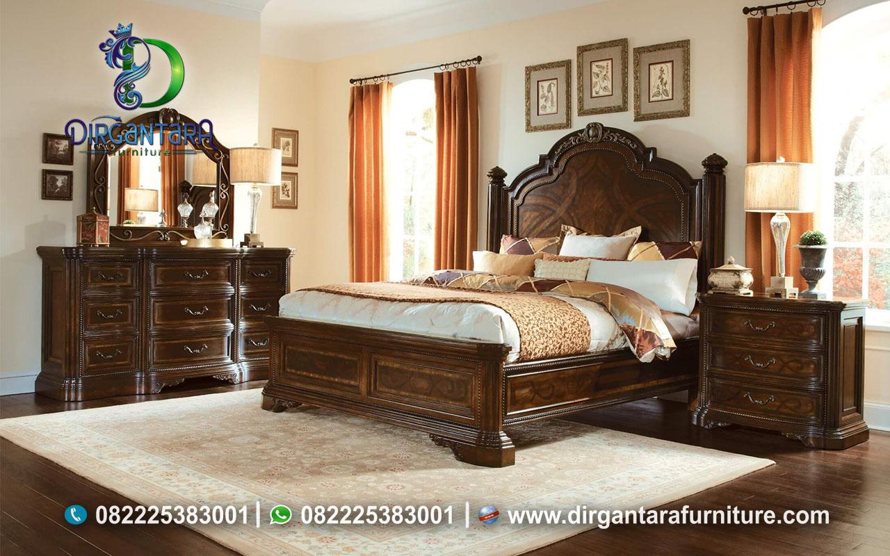 Inovasi Desain Kamar Tidur Klasik Natural KS-140, Dirgan Furniture