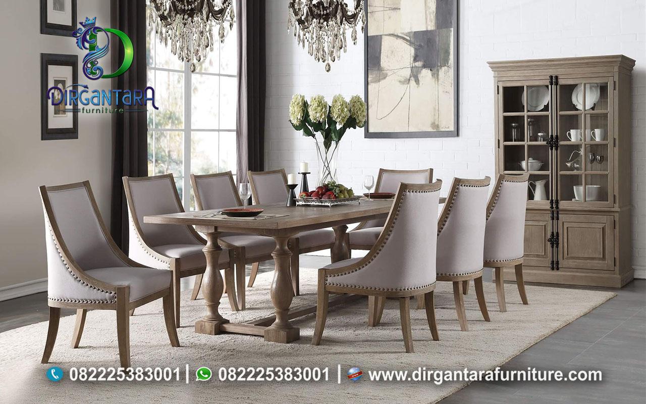 Inovasi Set Meja Makan Klasik Unik MM-49, Dirgantara Furniture