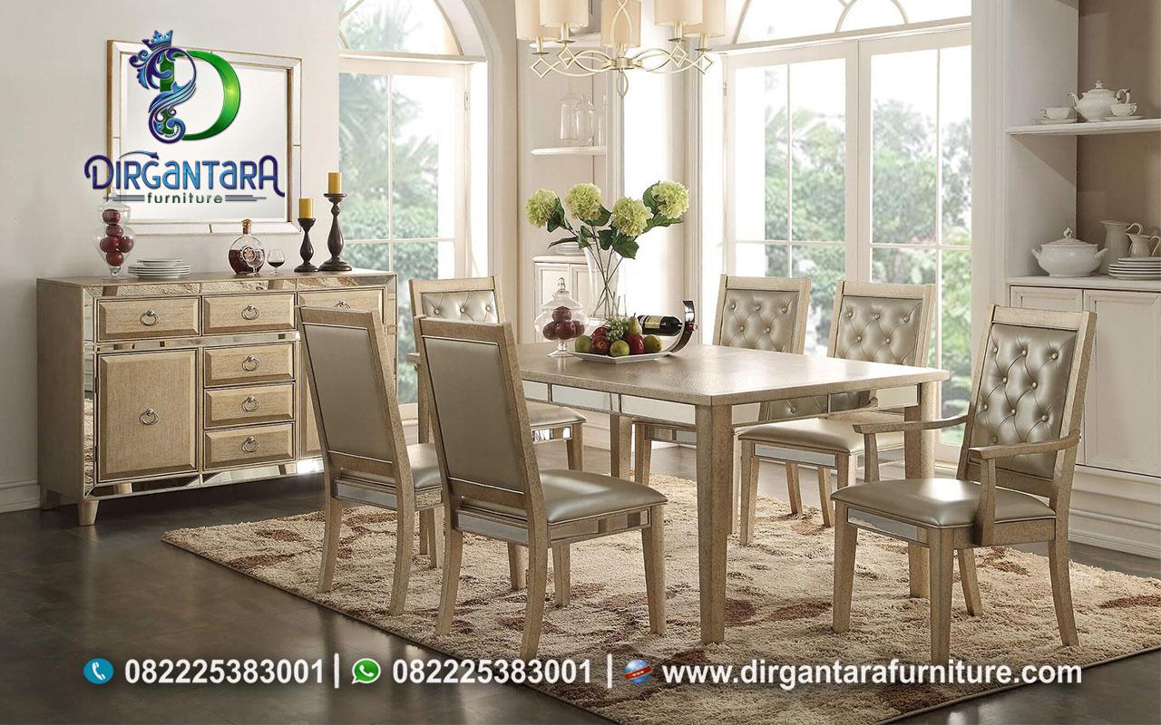 Jual Meja Makan Italian Leather MM-46, Dirgantara Furniture